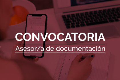 Convocatoria: Asesor/a de documentación