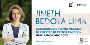 Jineth Bedoya Lima: UNESCO/Guillermo Cano World Press Freedom Prize 2020