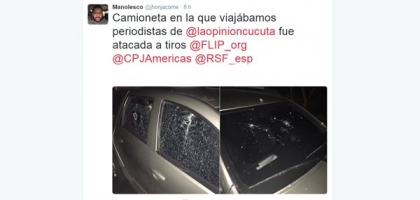 Journalists from La Opinión assaulted by smugglers